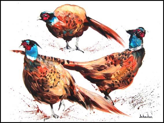 Pheasant Parade
